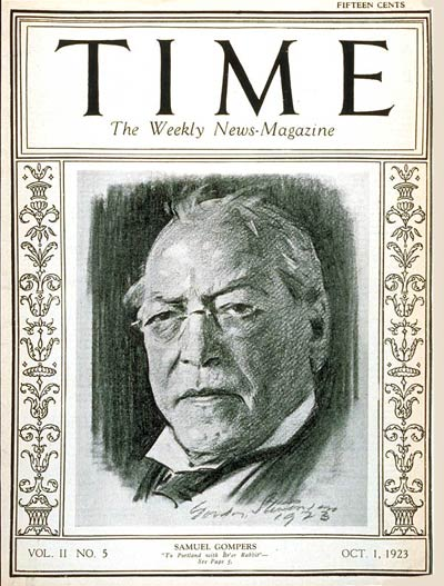 Samuel Gompers and the Tea Party
