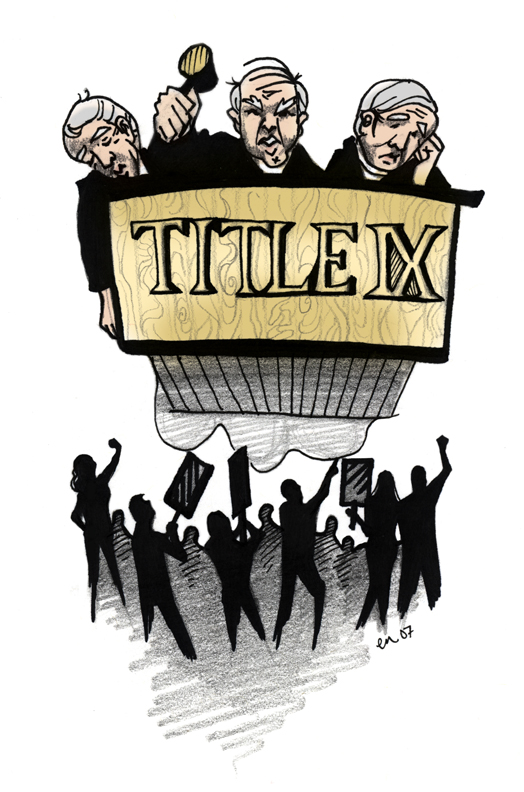 Title IX- Gender Equity is Not Making Sense