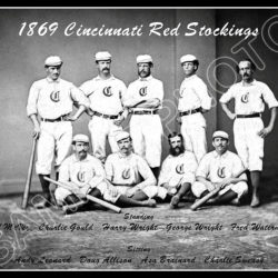 Baseball History: Baseball Becomes a Business in 1869