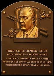 Commissioner of Baseball – Ford Frick – Part 3 of 6