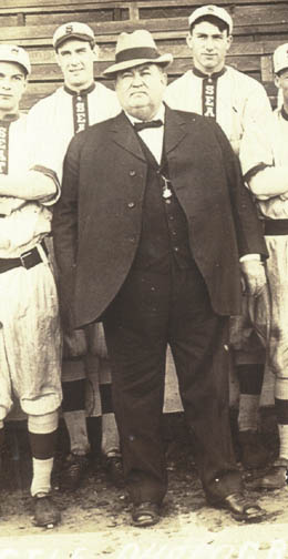 "Born in Peoria- Daniel Dugdale-  ""Father of Seattle Baseball"""